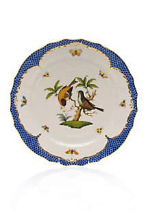 Blue Border Service Plate - Motif #12