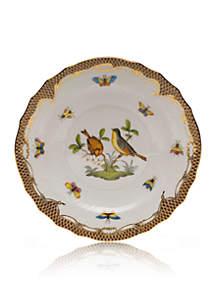 Herend Brown Border Salad Plate - Motif  #7