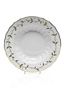 Herend Rothschild Garden Rim Soup Bowl