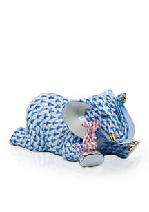 Herend Fast Friends - Blue/Pink
