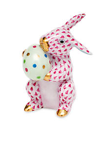 Herend Easter Bunny - Raspberry