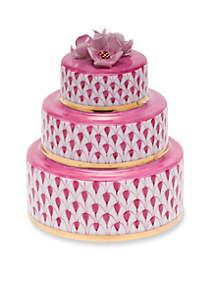 Herend Wedding Cake - Raspberry