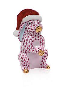 Santa Bunny - Raspberry