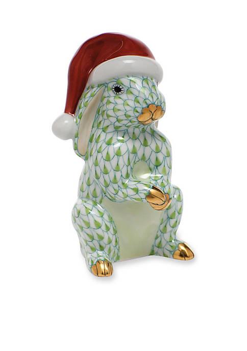 Santa Bunny - Green