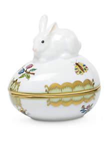 Herend Egg Bonbon w/ Bunny