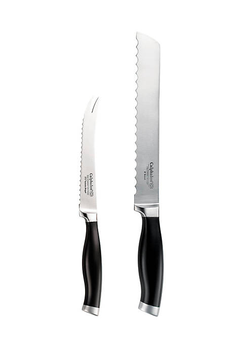 Contemporary 2-Piece Bread Knife Set