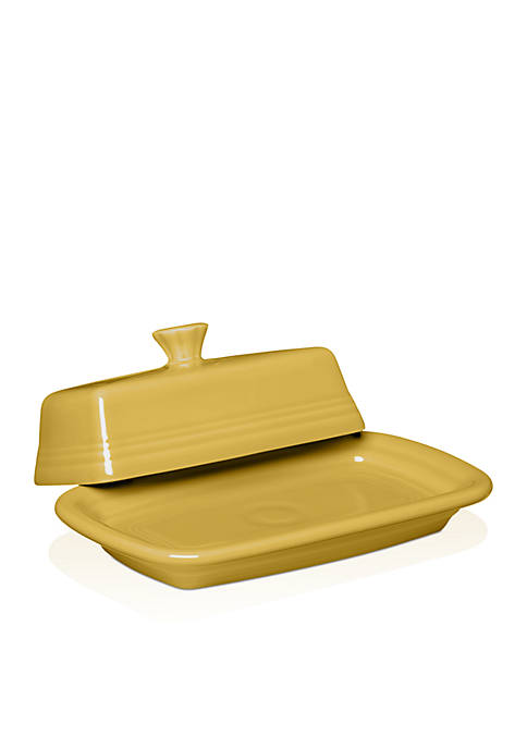 Fiesta® Extra Large Covered Butter Dish 8-in.