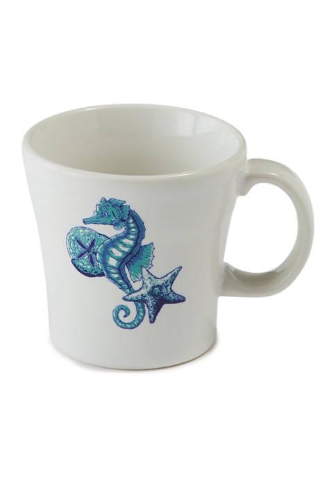 Fiesta® Coastal Seahorse Tapered Mug