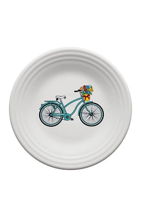 Vintage Bicycle Luncheon Plate - Belk Exclusive