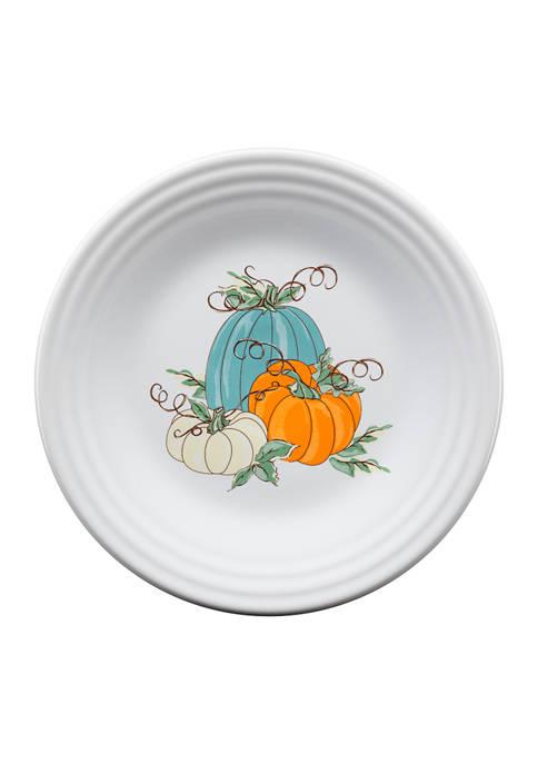Fiesta® Pumpkin Exclusive Plate