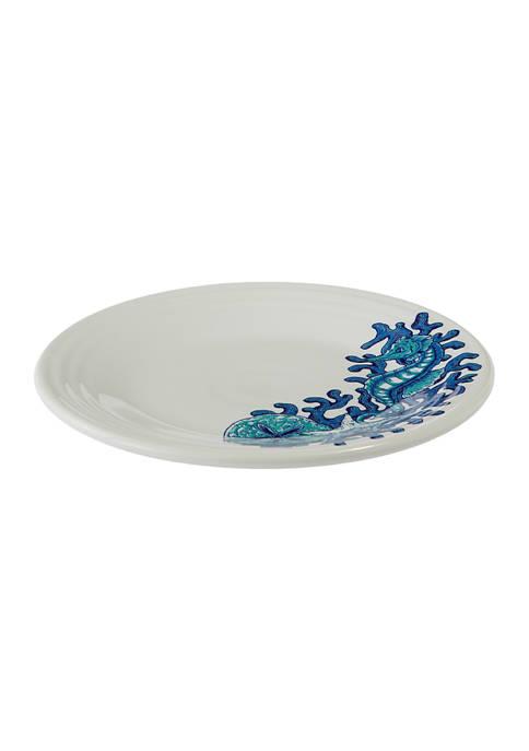 Fiesta® Coastal Seahorse Luncheon Plate