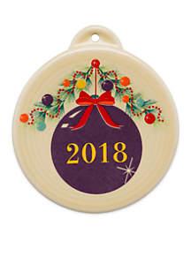 2018 Christmas Tree Ornament