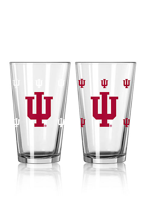 Boelter 16-oz. NCAA Indiana 2-Pack Color Change Pint
