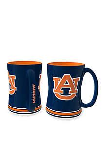Boelter 14-oz. NCAA Auburn Tigers 2-pack Relief Sculpted Coffee Mug Set