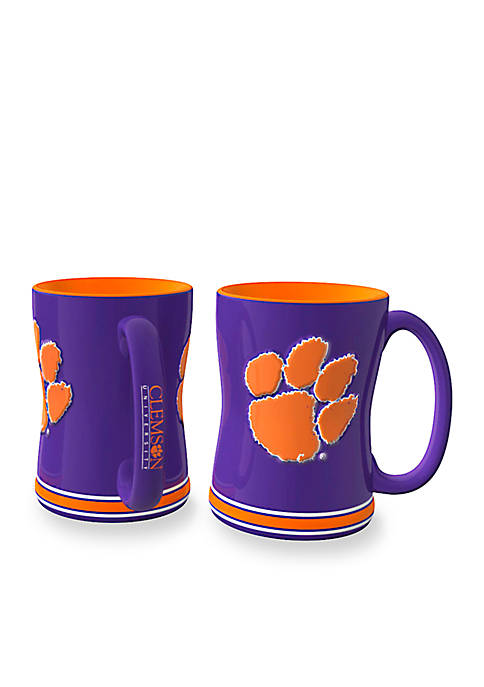 Boelter 14-oz. NCAA Clemson Tigers 2-Pack Relief Sculpted