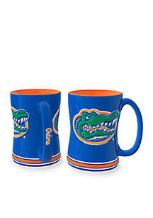 14-oz. NCAA Florida Gators 2-Pack Relief Sculpted Coffee Mug Set