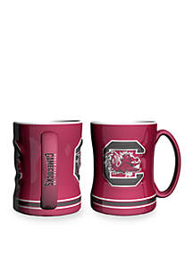 14-oz. NCAA South Carolina Gamecocks 2-Pack Relief Sculpted Coffee Mug Set