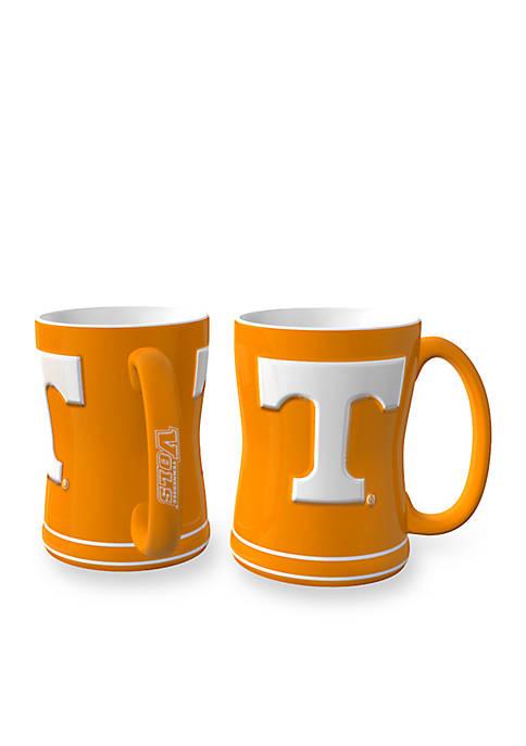 14-oz. NCAA Tennessee Volunteers 2-Pack Relief Sculpted Coffee Mug Set