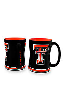 14-oz. NCAA Texas Tech Raiders 2-pack Relief Sculpted Coffee Mug Set