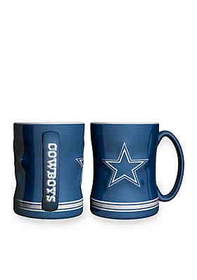 Boelter 14-oz. NFL Dallas Cowboys 2-pack Relief Sculpted Coffee Mug Set ... 532e0e6b988