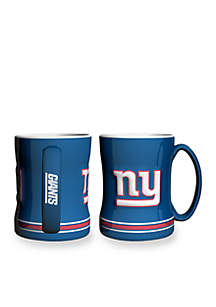 14-oz. NFL New York Giants 2-pack Relief Sculpted Coffee Mug Set