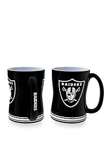 14-oz. NFL Oakland Raiders 2-pack Relief Sculpted Coffee Mug Set