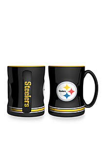 14-oz. NFL Pittsburgh Steelers 2-pack Relief Sculpted Coffee Mug Set