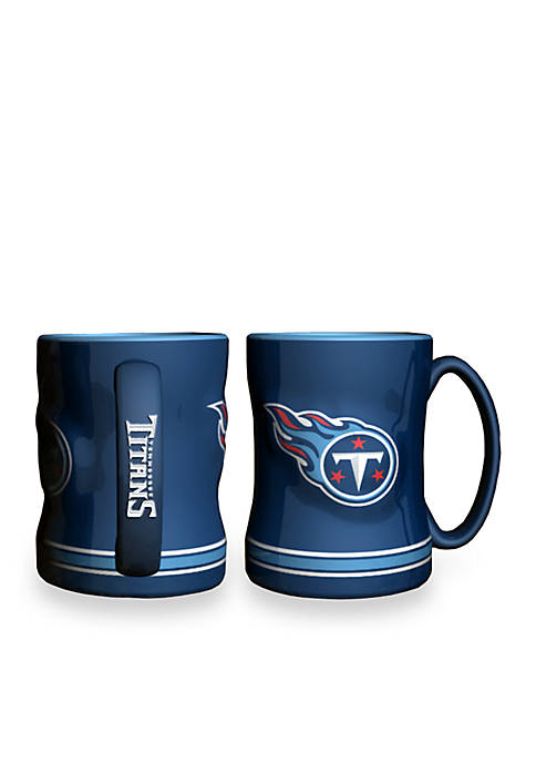 Boelter 14-oz. NFL Tennessee Titans 2-Pack Relief Sculpted