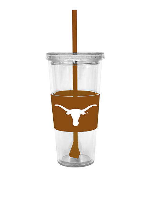 Texas Longhorns Tumbler with Lid and Straw