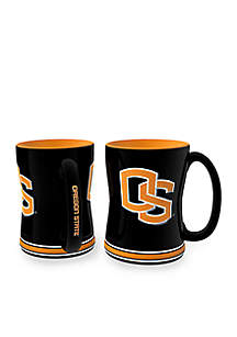 14-oz. NCAA Oregon State Beavers 2-pack Relief Sculpted Coffee Mug Set
