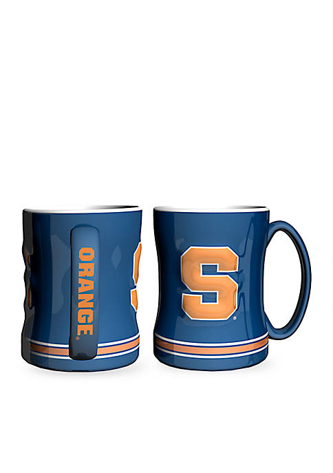 Boelter 14-oz. NCAA Syracuse Orangemen 2-Pack Relief Sculpted