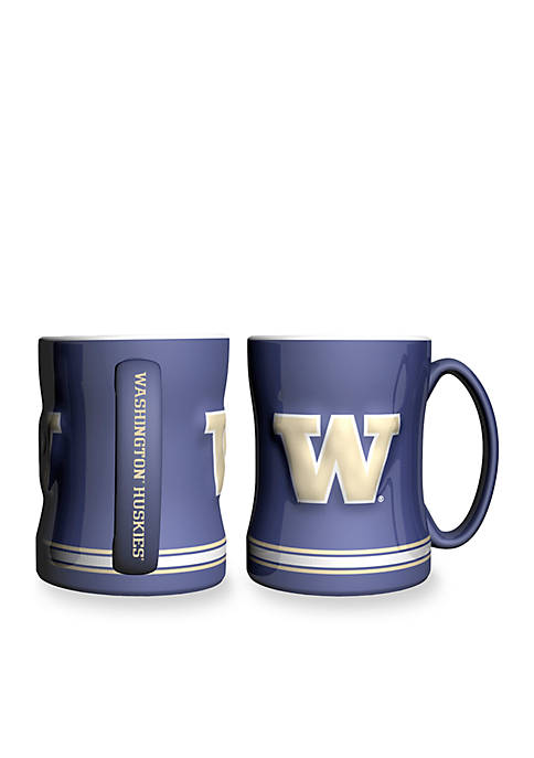 Boelter 14-oz. NCAA Washington Huskies 2-pack Relief Sculpted