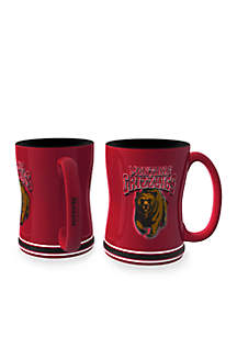14-oz. NCAA Montana Grizzlies 2-pack Relief Sculpted Coffee Mug Set