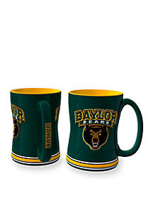 14-oz. NCAA Baylor Bears 2-Pack Relief Sculpted Coffee Mug Set