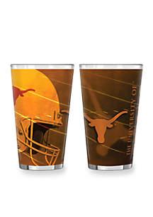 Boelter 16-oz. NCAA Texas Longhorns 2-Pack Shadow Sublimated Pint Glass Set