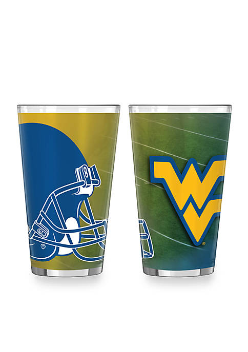 Boelter 16-oz. NCAA West Virginia Mountaineers 2-Pack Shadow