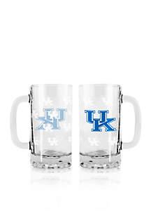 16-oz. NCAA Kentucky Wildcats 2-pack Glass Tankard Set