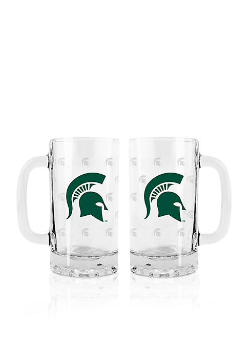 Boelter 16-oz. NCAA Michigan State Spartans 2-pack Glass