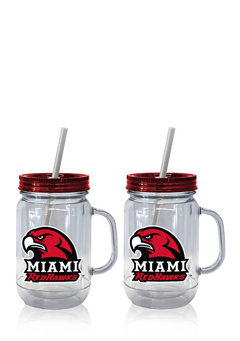 Boelter 20-oz. NCAA Miami Ohio Red Hawks 2-pack
