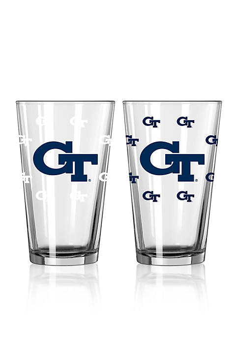 16-oz. NCAA Georgia Tech 2-pack Color Change Pint Glass Set