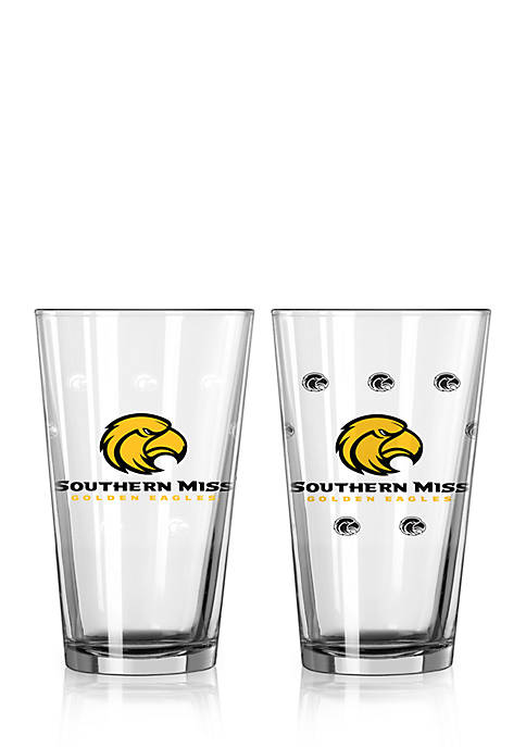 Boelter 16-oz. NCAA Southern Miss Golden Eagles 2-pack