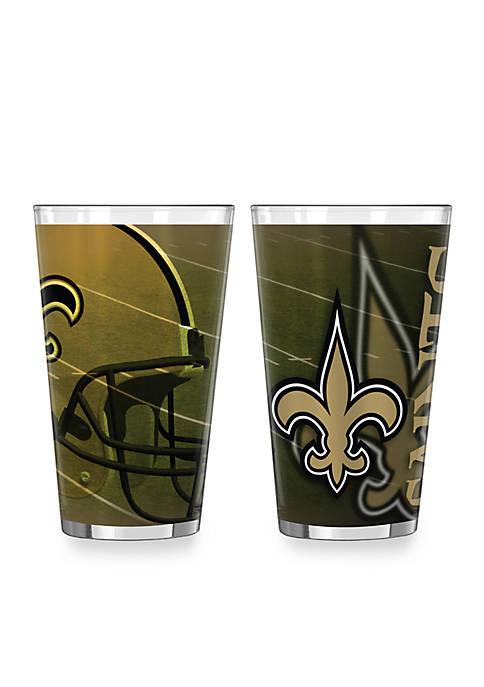 Boelter 16-oz. NFL New Orleans Saints 2-pack Shadow