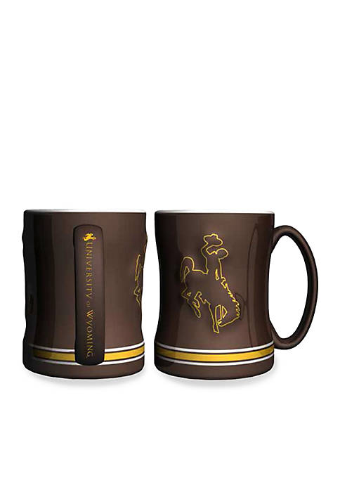 Boelter 14-oz. NCAA Wyoming Cowboys 2-pack Relief Sculpted