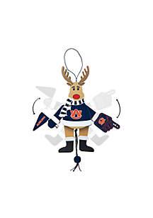 Auburn Tigers Reindeer Ornament