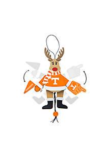Tennessee Volunteers Reindeer Ornament