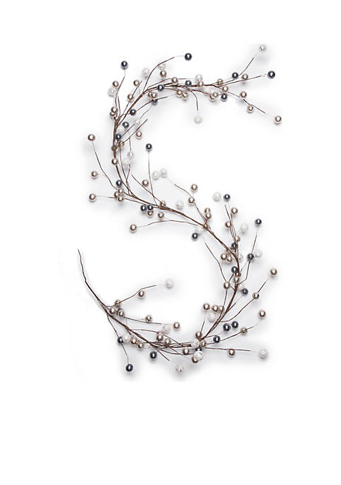 Madison Let It Snow Silver Berries Garland