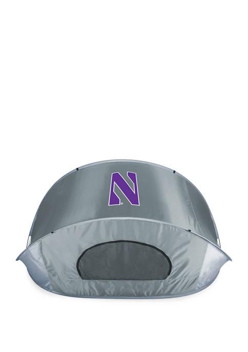 NCAA Northwestern Wildcats Manta Portable Sun Shelter