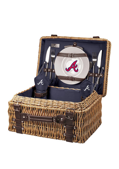 MLB Atlanta Braves Champion Picnic Basket
