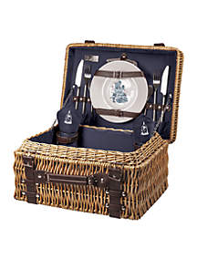 Beauty & the Beast - 'Champion' Picnic Basket by Picnic Time (Navy)