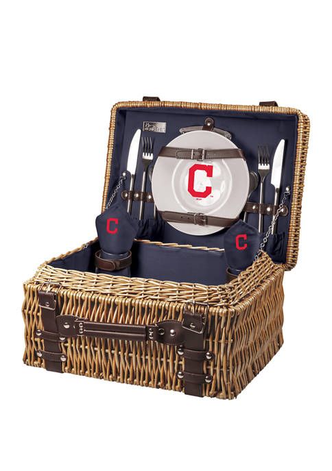 Picnic Time MLB Cleveland Indians Champion Picnic Basket
